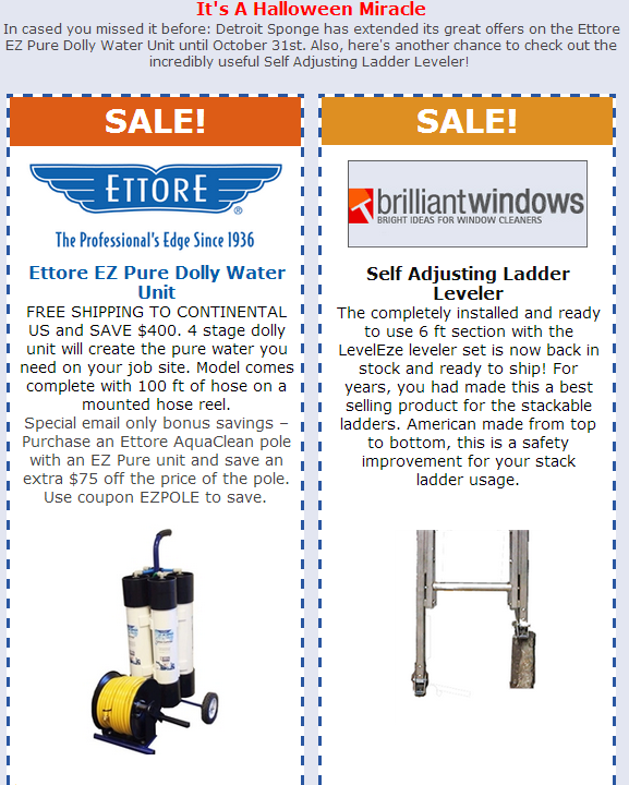 window cleaning equipment sale