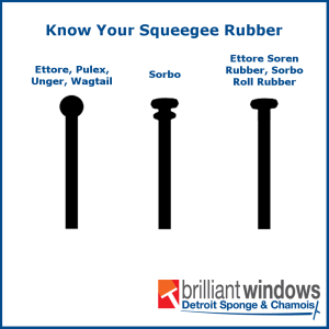 Know Your Squeegee Rubber